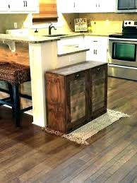 kitchen island trash bin kitchen island with trash bin kitchen island with trash can storage