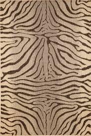 zebra rug charcoal thos baker