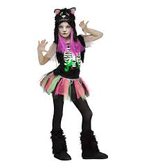 zombie kitty cat girls costume zombie costumes