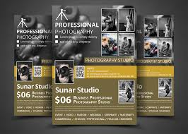 photography studio flyer templates flyer templates creative market
