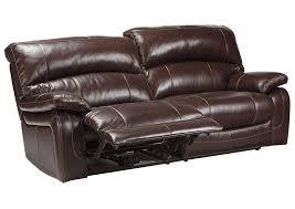 Brown Recliner Sofa Family Furniture Perry Ny Damacio Brown 2 Seat Reclining Sofa