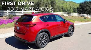 mazda ca first drive 2017 mazda cx 5 driving ca youtube