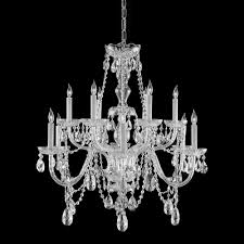 Expensive Crystal Chandeliers by This Crystal Candelabra Chandelier Provides Luxurious Illumination