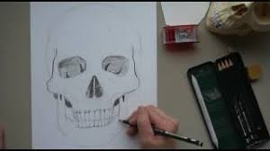 how to draw a skull by for beginners how to draw a skull