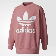 adidas sweater adidas s crewneck sweatshirt pink adidas canada