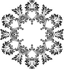 clipart decorative ornamental floral flourish design 8