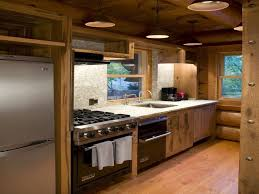 small space kitchens small log cabin kitchen designs country