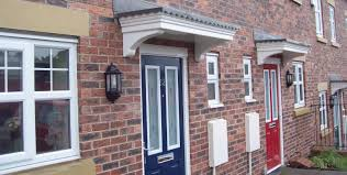 grp canopies for new build houses canopies uk standard royale
