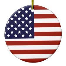 american flag ornaments keepsake ornaments zazzle