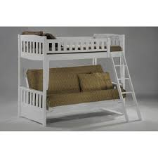 White Futon Bunk Bed Futon White Bunk Bed