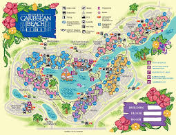 Walt Disney World Maps by Walt Disney World Moderate Resorts Dadfordisney