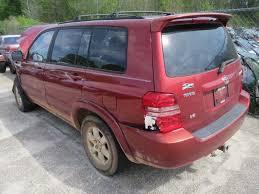 2002 toyota highlander parts heritage auto parts