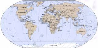 Printable World Map With Countries by World Political Map World Travel Map World Polical Map World