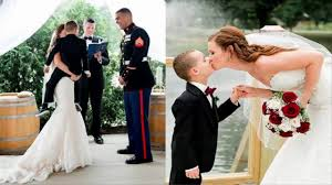 funniest wedding vows ever this bride u0027s heartfelt wedding vows for her four year old stepson
