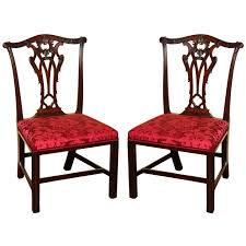 Antique Mahogany Dining Room Set Dining Chairs Fascinating Mahogany Chippendale Dining Chairs