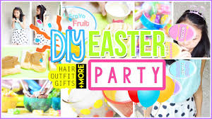 Diy Easter Gifts Diy Easter Party Hair Treats Gifts Decor More