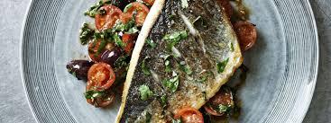 sea bream with tomato herb salsa recipe gordon ramsay recipes
