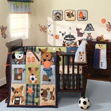Deer Rug For Nursery Baby Nursery Baby Room Decoration With Dark Brown Crib And Cozy