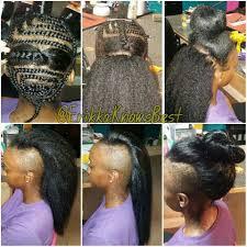 crochet hair mohawk pattern best 25 kanekalon hair ideas on pinterest faux bun afro hair