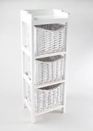 White Wicker Bathroom Storage by Bathroom Storage U0026 Accessories Bins Shelves U0026 U2013 Matalan