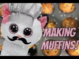 making muffins muffin beanie boo