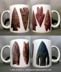 stonehenge museum supply company arrowhead coffee mugs for sale