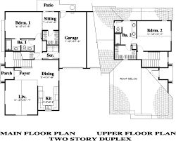 2 Story Duplex Floor Plans Epperle Corners U2014 Haldeman Homes