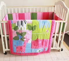 crib bedding girls european cot bed set girls crib bedding set cartoon animal zoo