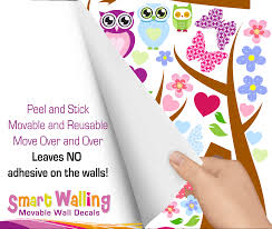 tree owl wall stickers totally movable buy now tree owls hand ad gif