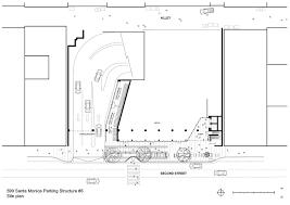 Parking Building Floor Plan Gallery Of City Of Santa Monica Parking Structure 6 Behnisch