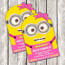 diy minion invitations minion birthday party invitations alanarasbach