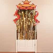 Gold Foil Curtain by Gold Foil Fringe Curtain
