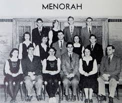 i leonard high school yearbook high school yearbook captures leonard cohen in menorah current
