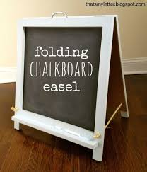 home decoration dazzling white chalkboard easel ideas