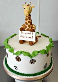 giraffe baby shower cakes baby shower cakes fluffy thoughts cakes mclean va and