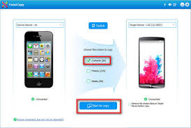 how to copy contacts from android to iphone how to easily transfer contacts from iphone to iphone
