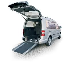 vw caddy caddy maxi wav lowered floor and ramp mobility networks
