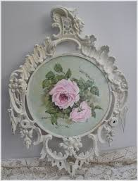Shabby Chic Paintings by 672 Best Painted Roses Images On Pinterest Painted Roses