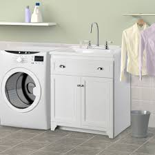 Cabinet  Unforeseen Laundry Sink Cabinet Kit Outstanding - Utility sink backsplash