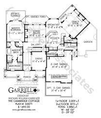cambridge cottage house plan house plans by garrell associates inc