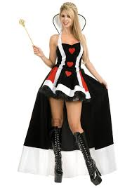 queen of hearts enchanting costume alice in wonderland costumes