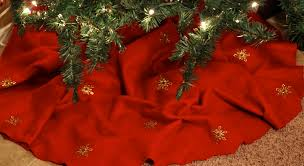 themed tree skirts shimmer christmas tree skirt