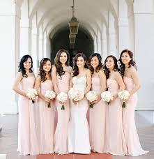 light pink dama dresses light pink long bridesmaid chiffon dress strapless sheath floor