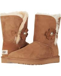 womens ugg bailey boots chestnut savings on ugg bailey button poppy chestnut s pull