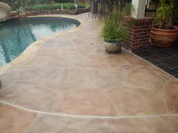 Concrete Patio Houston Allied Outdoor Solutions Has Many Carvestone Overlay Options For