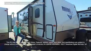 rockwood trailers floor plans forest river rockwood mini lite 2504s youtube