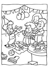 free birthday coloring pages for kids birthday coloring pages of