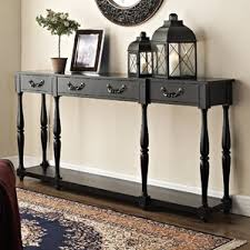 Behind Sofa Bookcase Black Console U0026 Sofa Tables You U0027ll Love Wayfair
