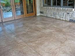 Color Concrete Patio by Stained Concrete Patios Patio Concrete Stain Solcrete Com