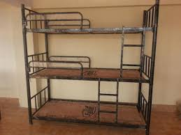 Three Tier Bunk Bed New Black 3 Tier Bunker Bed Or Bunk Bed Rs 8000